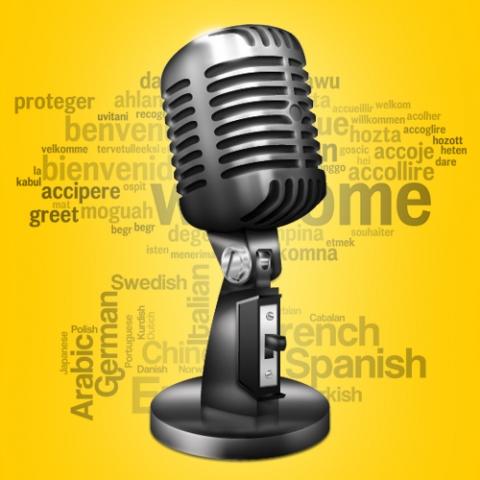 Предоставьте перевод переводчику